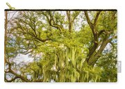 Live Oak And Spanish Moss 2 - Paint Carry-all Pouch