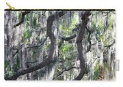Live Oak With Spanish Moss And Palms Carry-all Pouch