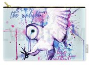 Live Without The Sunlight Owl Carry-all Pouch
