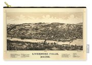Livermore Falls Maine Carry-all Pouch