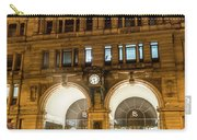 Liverpool Exchange Railway Station By Night Carry-all Pouch