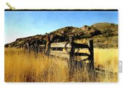 Livery Fence At Dripping Springs Carry-all Pouch