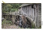 Cable Mill Gristmill - Great Smoky Mountains National Park Carry-all Pouch