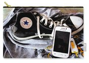 Living In Converse Resting Time  Carry-all Pouch