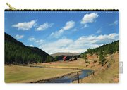 Living In The Valley Carry-all Pouch by Angelina Vick