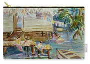 Living On The Water Carry-all Pouch