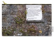 Living Wall At Donegal Castle Ireland Carry-all Pouch