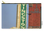 Livingston Bar And Grill Old Neon Sign Montana Carry-all Pouch
