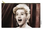 Liz Fraser, Vintage British Actress Carry-all Pouch
