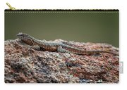 Lizard On A Rock Carry-all Pouch