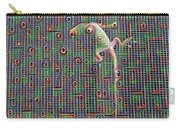 Lizard On A Screen Porch Carry-all Pouch