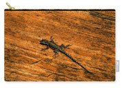 Lizard On Sandstone Carry-all Pouch