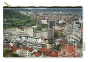Ljubljana Slovenia With Karawanks, Kamnik Savinja, Limestone Alp Carry-all Pouch