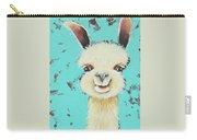 Llama Sue Carry-all Pouch