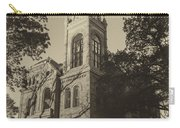 Llano County Courthouse - Vintage Carry-all Pouch