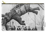 Loading Elephant, 1930s Carry-all Pouch