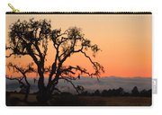Loan Tree Overlooking Fog Carry-all Pouch