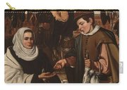 Loarte, Alejandro De Madrid , 1590 - Toledo, 1626 The Poultry Vendor 1626. Carry-all Pouch