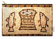 Loaves And Fishes Mosaic Carry-all Pouch