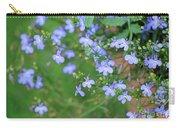 Lobelia Flowers Carry-all Pouch