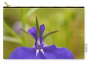 Lobelia On A Brilliant Spring Day 3 Carry-all Pouch