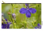 Lobelia On A Brilliant Spring Day Carry-all Pouch