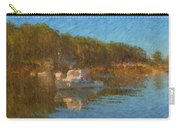 Lobster Boat Boothbay Harbor Carry-all Pouch