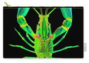 Lobster Crawfish In The Dark - Greenlime Carry-all Pouch