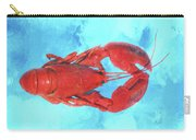 Lobster On Turquoise Carry-all Pouch