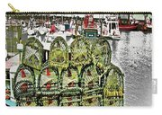 Lobster Pots Kilmore Quay, Wexford, Ireland, Poster Effect 1a Carry-all Pouch
