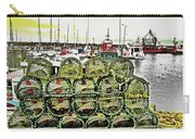 Lobster Pots Kilmore Quay, Wexford, Ireland Poster Effect 1b Carry-all Pouch