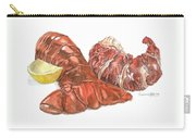 Lobster Tail And Meat Carry-all Pouch