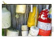 Lobster Trap Buoys 2 Carry-all Pouch
