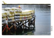 Lobster Traps In Winter Carry-all Pouch