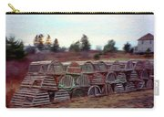 Lobster Traps Carry-all Pouch by Jeff Kolker