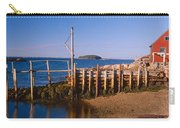 Lobster Village In Autumn, Stonington Carry-all Pouch