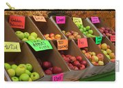 Local Apples For Sale Carry-all Pouch