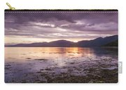 Loch Linnhe - The Last Rays Of The Sun. Carry-all Pouch