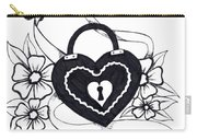 Locked Love Carry-all Pouch