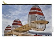 Lockheed Constellation Carry-all Pouch by Carol Leigh