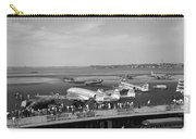 Lockheed Constellation Plane Fueling Up Carry-all Pouch