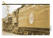 Locomotive And Coal Car Of Yesteryear Carry-all Pouch