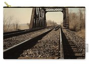 Locomotive Truss Bridge Carry-all Pouch