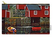 Lofoten Fishing Huts Oil Carry-all Pouch