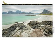 Lofoten Island Beach Scene Carry-all Pouch