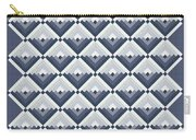 Log Cabin Blues Quilt Carry-all Pouch