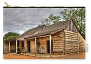 Log Cabin In Lbj State Park Carry-all Pouch