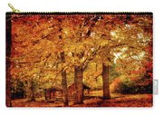 Log Cabin At  Ringwood Manor New Jersey Carry-all Pouch
