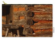Log Cabin Carry-all Pouch by Robert Frederick