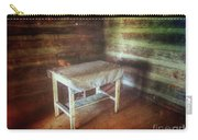 Log Cabin Table Carry-all Pouch
